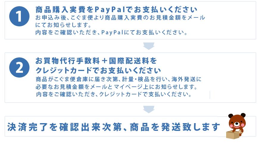 [お買物代行サービス]ご利用料金のお支払い方法